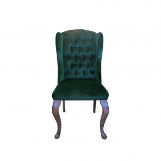 кресло классическое зелёное