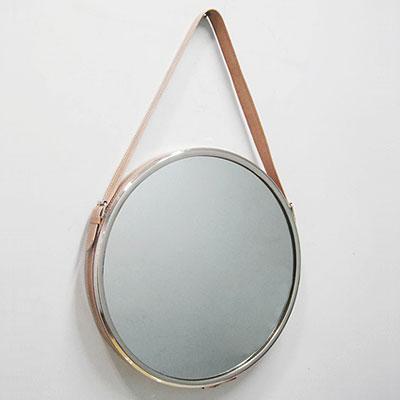 Зеркало круглое на ремешке арт.108898