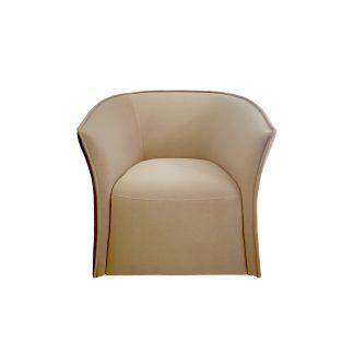 Кресло компактное велюровое