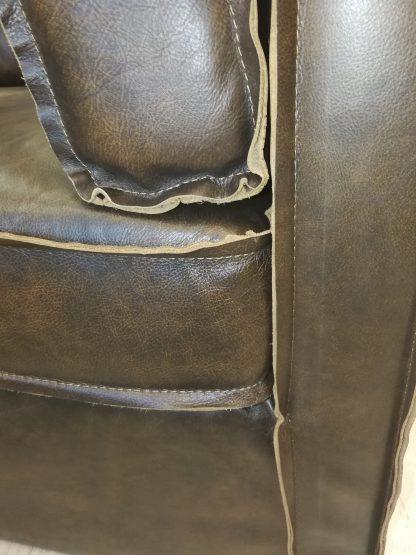 Кресло кожаное Лофт арт. S0002-1D