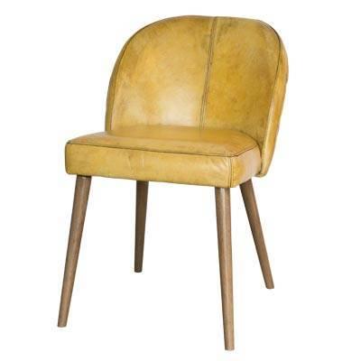 стул с прошитой спинкой