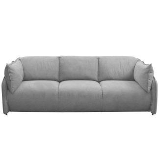 светло серый велюровый диван