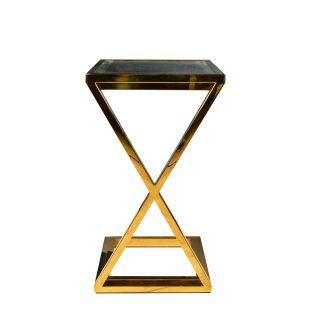 золотой приставной столик