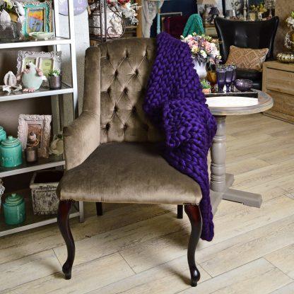 Кресло велюровое арт.109302