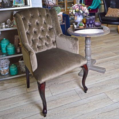 кресло оливковое