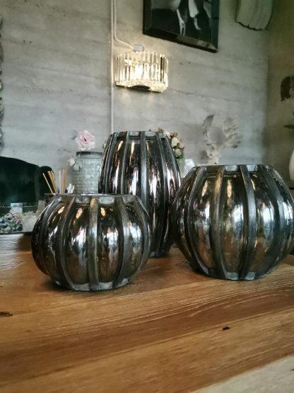 ваза маленькая алюминиевая