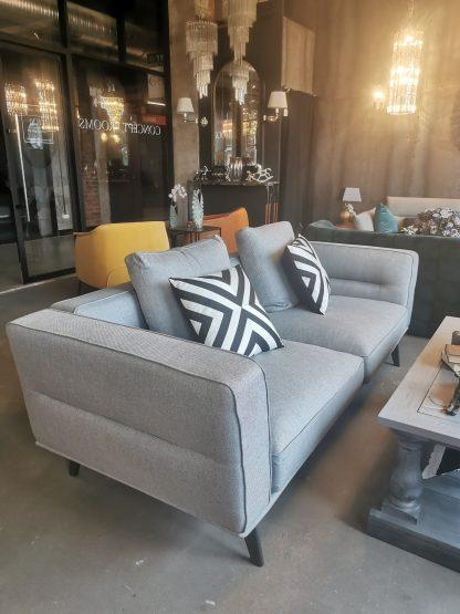 современный серый диван